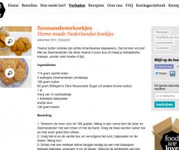 Recept voor Zeemansboterkoekjes